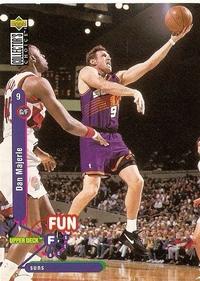 Dan Majerle (Phoenix Suns; 1995; Upper Deck)