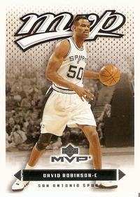 David Robinson (2003; San Antonio Spurs; Upper Deck)